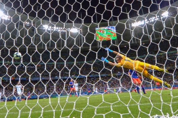 Gol de Colombia para el 1-0 a Argentina