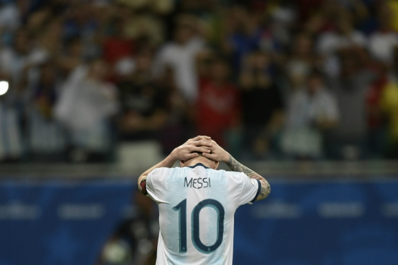Messi no encuentra consuelo