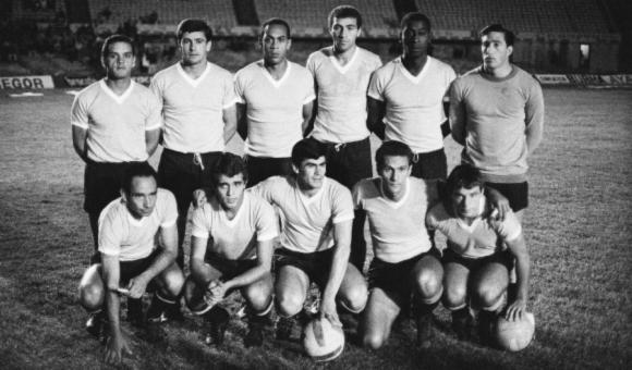 La Selección de Uruguay de 1967