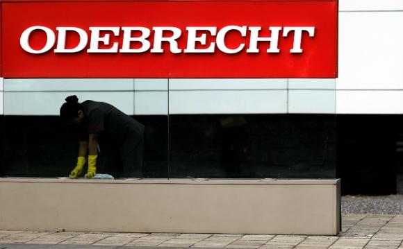 Sede de la empresa Odebrecht. Foto: Reuters