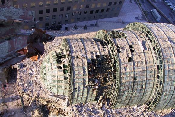 Fotos inéditas del 11-S. Foto: TextFiles / Flickr