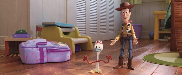 Toy Story 4 con Forky