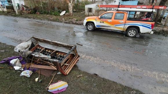 Se reportaron grandes pérdidas materiales tras inundaciones. Foto: Alexander Echeverría.