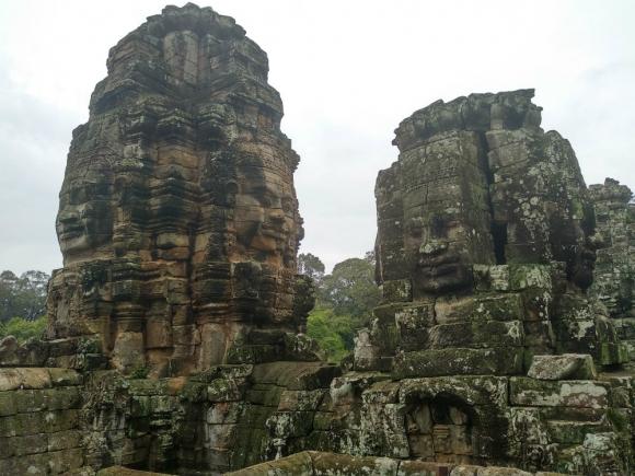 Templo Bayon-Angkor Thomb, Camboya