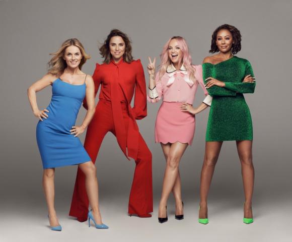 El regreso de las Spice Girls fue ante 90.000 personas en Dublin