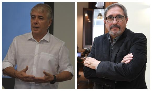Álvaro Moré y Eduardo Fernández