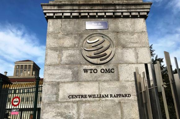 Organización Mundial del Comercio (OMC). Foto: AFP.