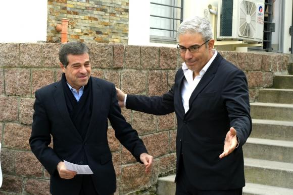 Ernesto Talvi y Robert Silva. Foto: Leonardo Mainé
