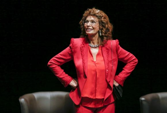 Sophia Loren. Foto: Archivo.