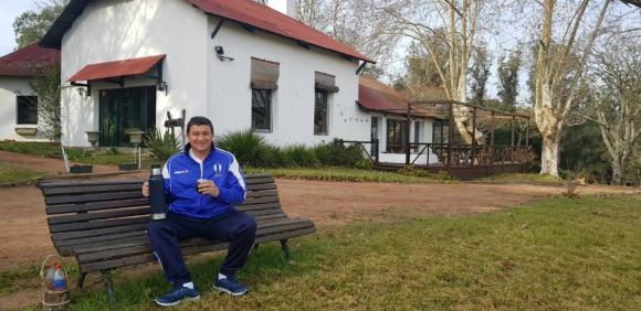 Yamandú Costa, presidente de Juventud de las Piedras