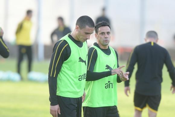 Rodrigo Abascal y Fabián Estoyanoff. Foto: Marcelo Bonjour.