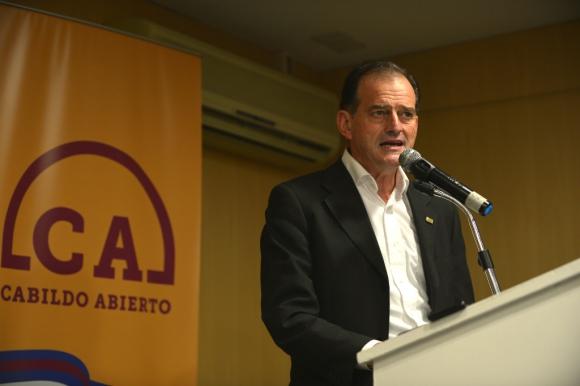 Guido Manini Ríos. Foto. Gerardo Pérez