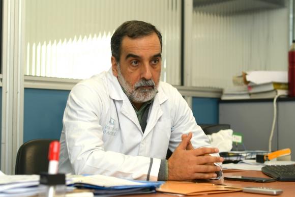 José Minarrieta, subdirector del Hospital Maciel. Foto: Leonardo Mainé