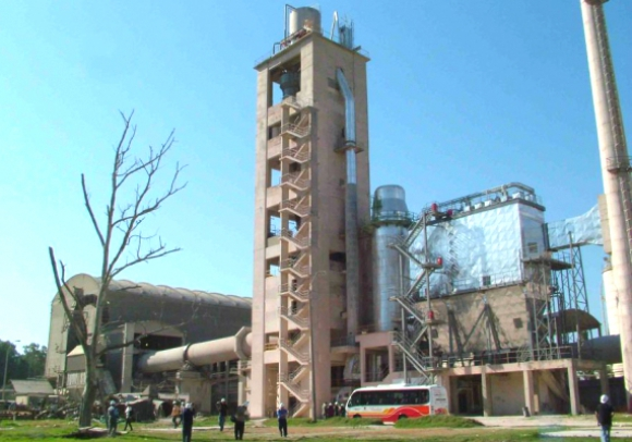 Planta de cemento. Foto: Archivo El País