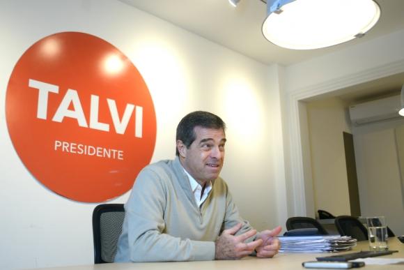 Ernesto Talvi, candidato a la Presidencia por el Partido Colorado. Foto: Leonardo Mainé