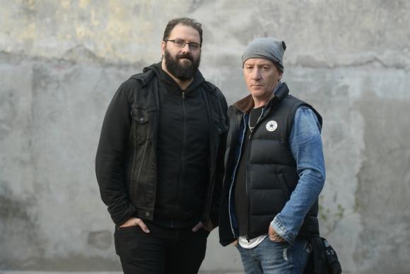 Ezequiel Bolli y Rolo Sartorio. Foto: Leonardo Mainé.