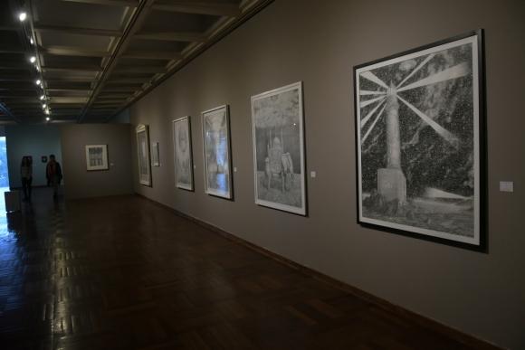Exposición de Alfredo Ghierra en el Museo Nacional de Artes Visuales. Foto: Francisco Flores