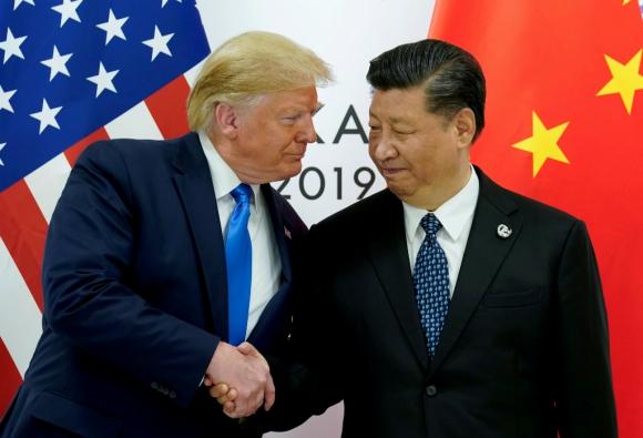Donald Trump y Xi Jinping. Foto: Reuters