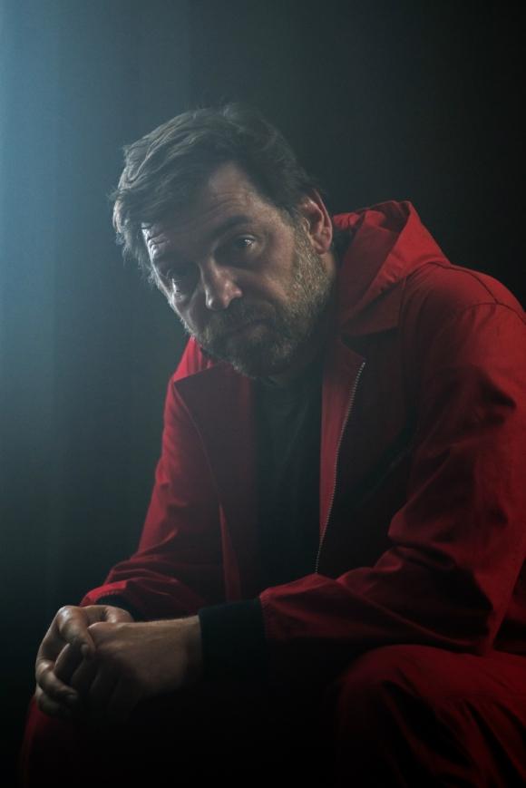 Hovik Keuchkerian en La casa de papel 3. Foto: Netflix