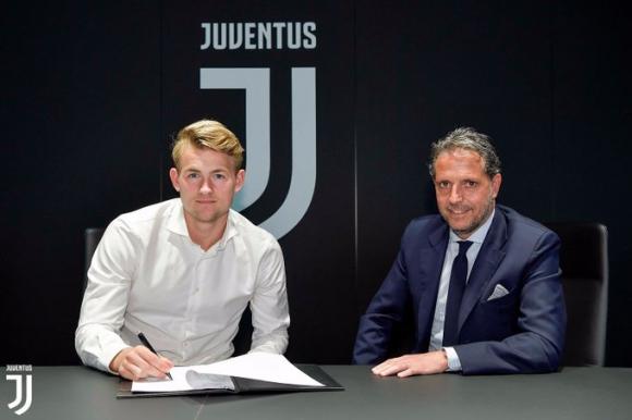 Matthijs de Ligt en la Juventus