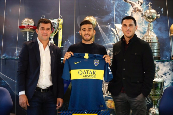 "Eduardo ""Toto"" Salvio es nuevo jugador de Boca Juniors."