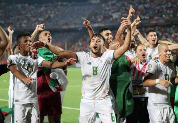 Argelia campeón de la Copa Africana de Naciones 2019.