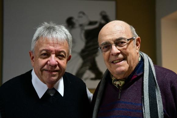 Julio Frade y Panchito Nolé. Foto: Francisco Flores.