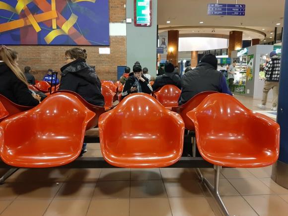 Terminal de Tres Cruces. Foto: Mariangel Solomita
