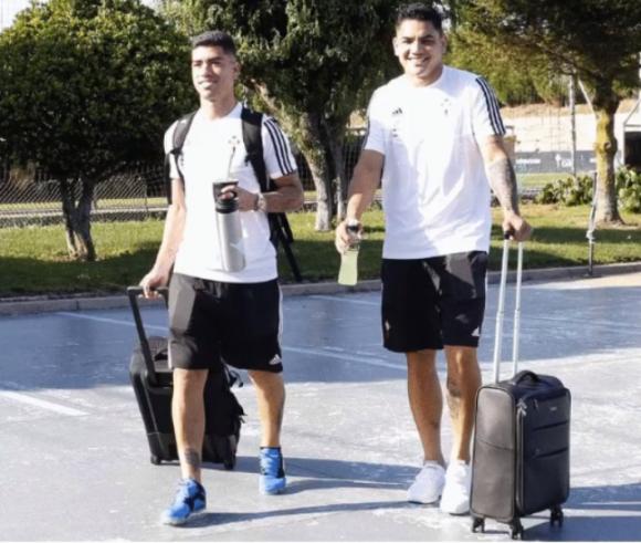 Lucas Olaza y Gabriel Fernández