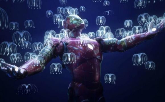 """La unión entre el universo de Marvel y de """"Avatar"""". Foto: Twitter."""