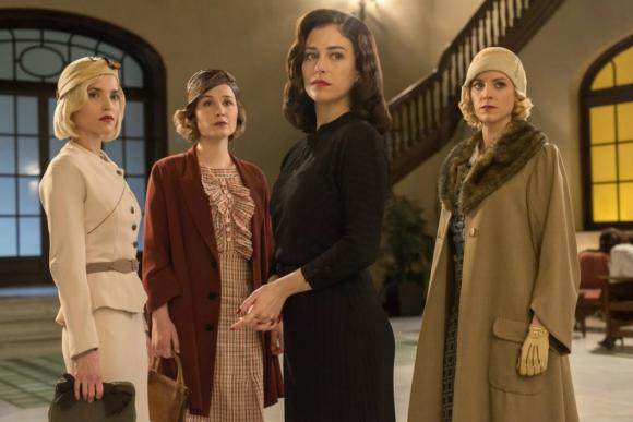 """""""Las chicas del cable"""". Foto: Netflix."""