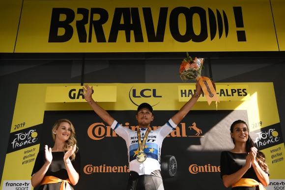 Matteo Trentin (Mitchelton) en el Tour de France 2019