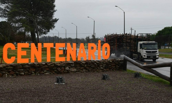 Pueblo Centenario, lugar en el que se realizará la nueva planta de UPM. Foto. Fernando Ponzetto