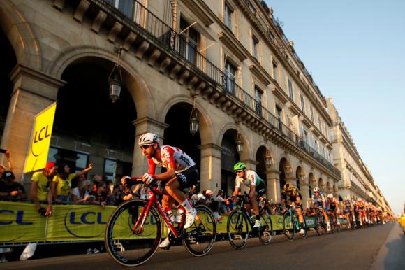 Las mejores imágenes del Tour de France 2019 que consagró al Colombiano Egan Bernal. Fotos: AFP y Reuters