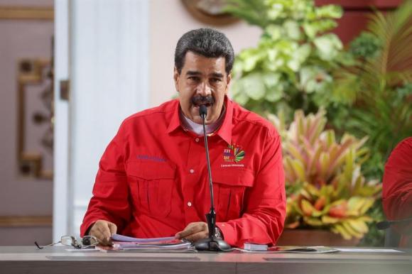 Nicolás Maduro. Foto: EFE.