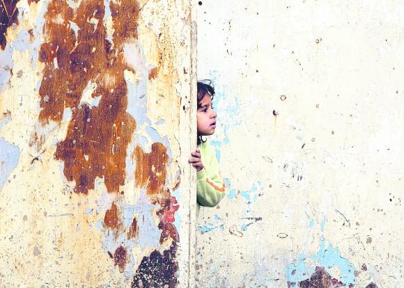 Violencia infantil. Foto: AFP.