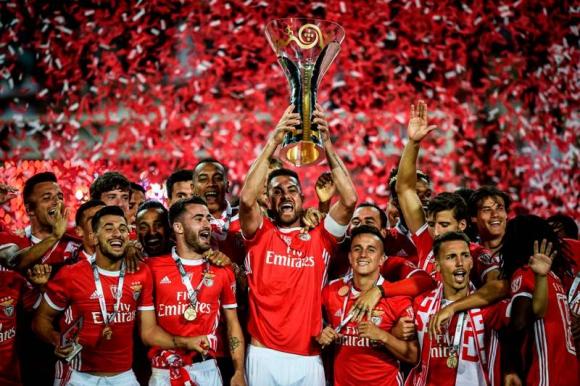 Benfica se adueñó de la Supercpa de Portugal 2019. Foto: AFP