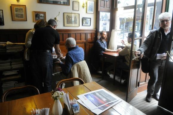 El Café Brasilero, otro testimonio que sobrevive de la Edad de Oro.