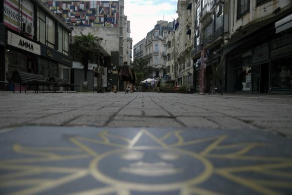 La Peatonal Sarandí, predilecta de los visitantes que la escogen como paseo.