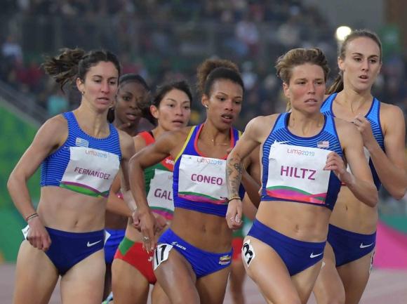 María Pía Fernández. Mejoró su desempeño panamericano: 4'27''17 en Toronto 2015 para ser 15°.
