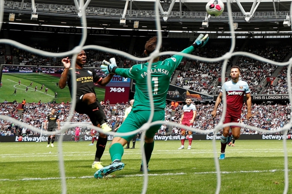 El Manchester City despegó con todo: 5-0 al West Ham