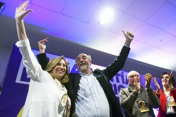 Pablo Mieres y Mónica Bottero