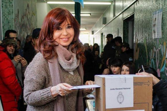 Cristina Fernández de Kirchner. Foto: AFP.