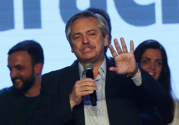 Alberto Fernández. Foto: Reuters