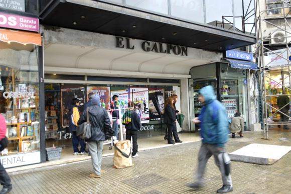 Fachada del teatro El Galpón. Foto: Archivo El País