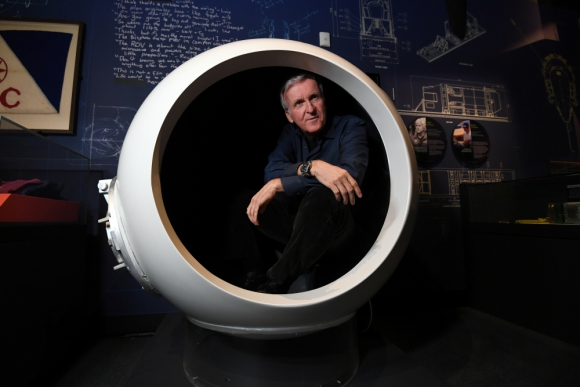 James Cameron. Foto: AFP