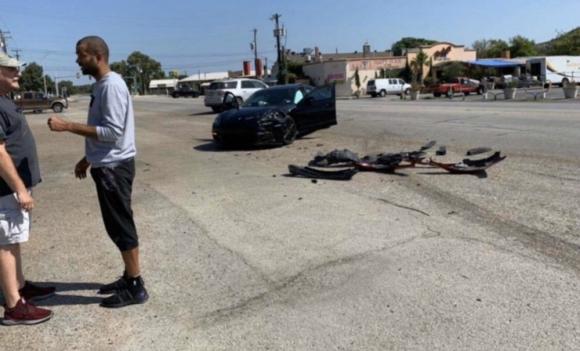 Tony Parker tuvo un accidente en San Antonio