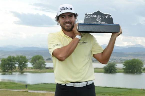 Éxito. Nelson Ledesma jugará en el PGA Tour en 2020.