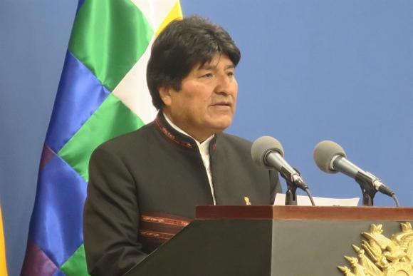 Evo Morales. Foto: EFE