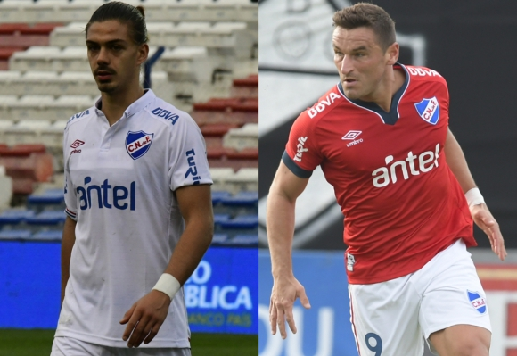 Gonzalo Bergessio y Thiago Vecino, con chances de jugar juntos por primera vez.